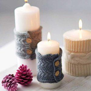 ایده های تزیین شمع