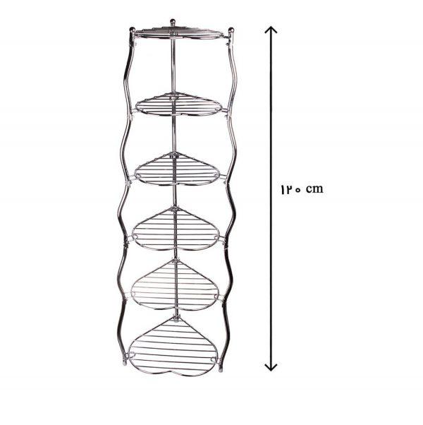 پایه قابلمه 6 طبقه طرح قلب